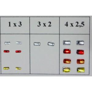 Pastille de Phare rectangle x 2