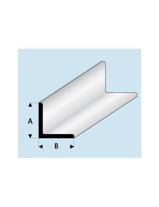 Profilé styrène en L : A égal B