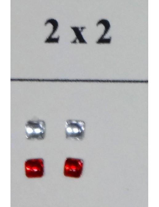 Pastille de Phare carré x 2
