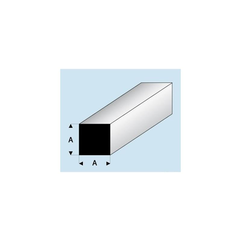 Profilé styrène carré