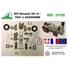 KIT TRACTEUR RENAULT 301H GAZOGENE - 1941