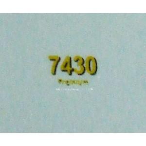 DECALQUE J.D. 7430 X2