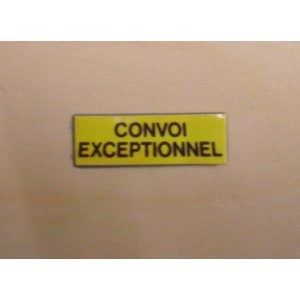 CONVOI EXCEPTIONNEL COURT