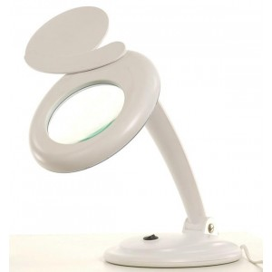 Lampe loupe sur table à led 02