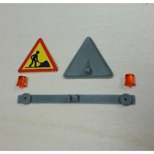 Panneau de toit chantier (repliable) + gyro