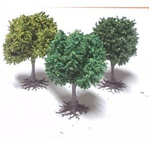 3 PLATANES Assortis 6 cm