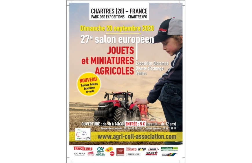 Salon de Chartres (28) - Dimanche 20 septembre 2020