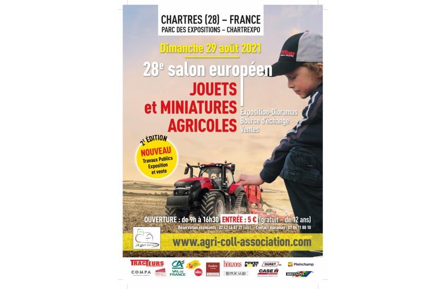 Artisan32 présent au Salon Européen de la miniature agricole à Chartres