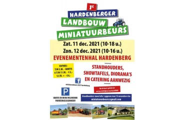 Expo Miniatures Agricole de Bolbec le 6/7 novembre
